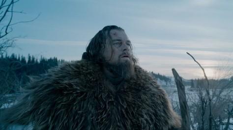 Leonadro DiCaprio in The Revenant